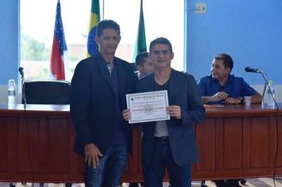 Entrega de Titulo de Cidadão Benemérito David Almeida (Presidente da ALEAM)